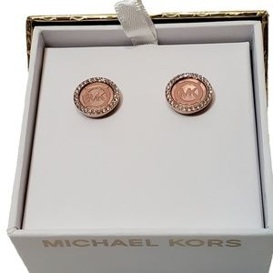 MICHAEL Michael Kors Rose Gold Earrings Studs